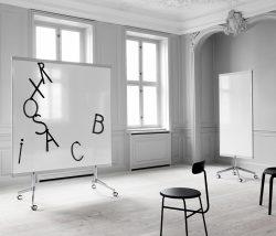 M3 dubbelsidig whiteboard