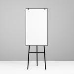 One Flip Chart svart ram