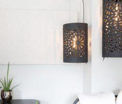 Akustisk taklampa BuzziLight Alhambra & Royal