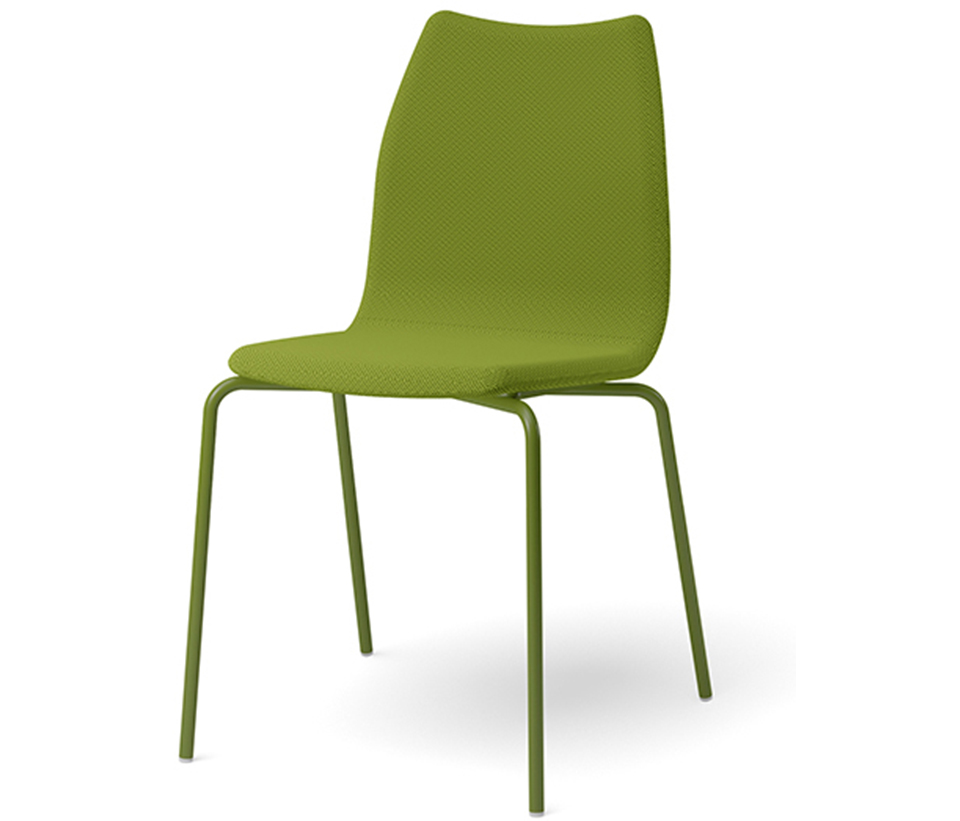Stapelbar stol Knuff, 4 ben eller medar
