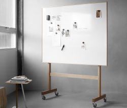 Skrivtavla Wood mobil whiteboard