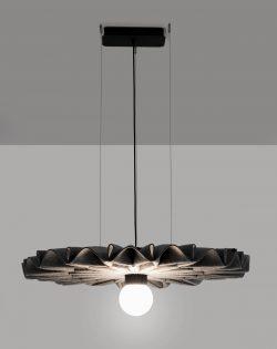 Ljudabsorbent BuzziPleat LED
