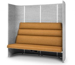 Avskärmande soffa SoundRoom