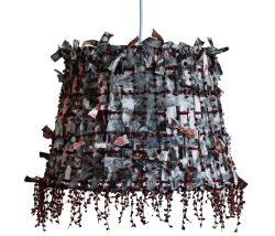 Lampskarm Batik