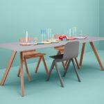 Bord CPH30 table, green base