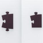 Aubergin coloured Puzzle x 2