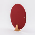 Red cone with cork
